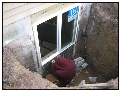 This is the egress window