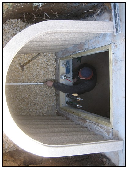 This is another top view of the egress window layout
