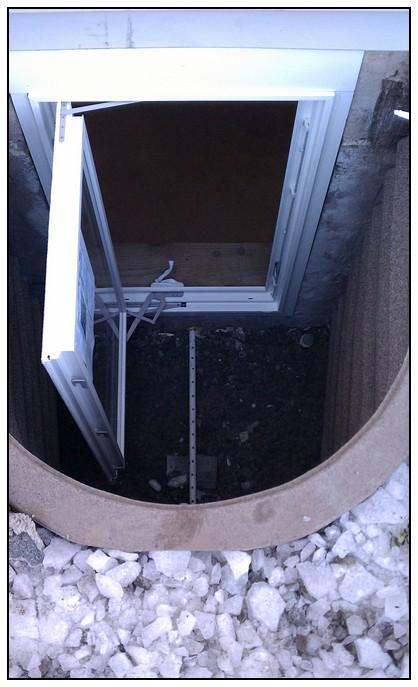 This is the door of the egress window