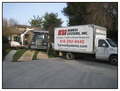 These are Egress Systems, Inc. work vehicles