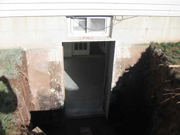 This is the exterior of the PermEntry doorway