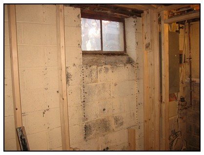 This is the interior location of the egress window