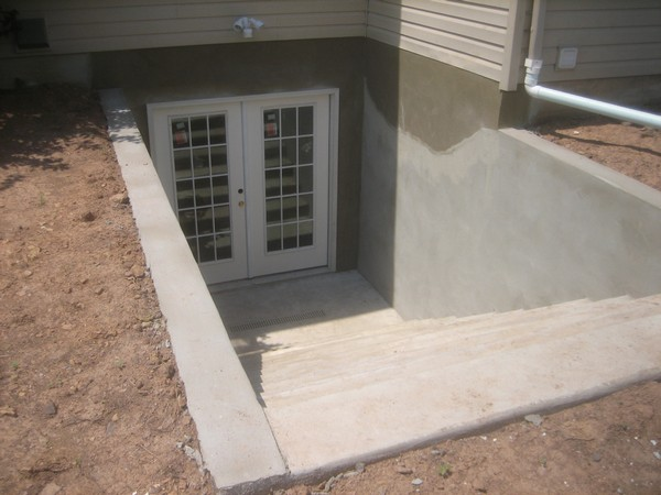 Egress Custom basement entrance