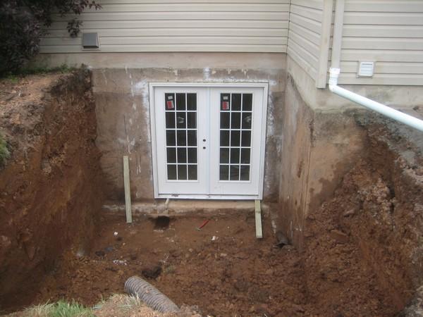 Door for Custom basement entrance