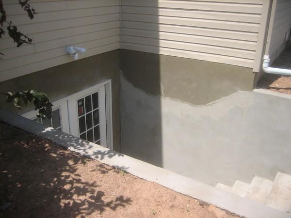 Custom basement entrance