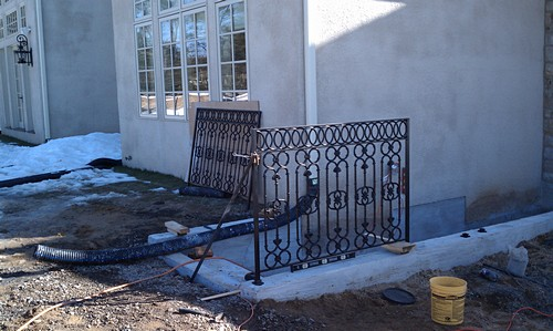Custom Basement Entrance installation