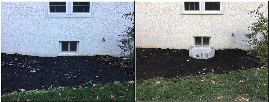 Wellcraft installation before and after