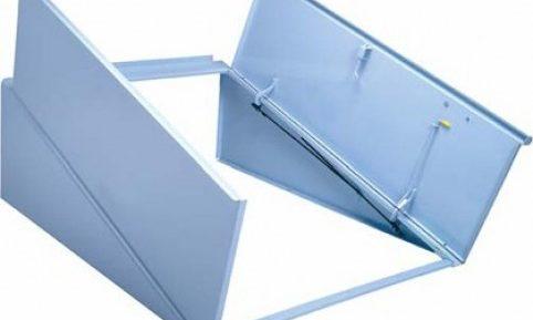 Blue Permentry Doors