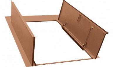 Brown permentry doors