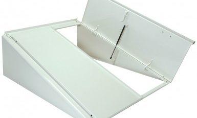 White permentry doors