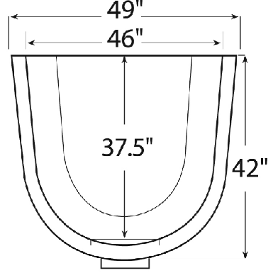These are the dimensions of the wellcraft 2062 series