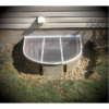 This is an egress window well cover