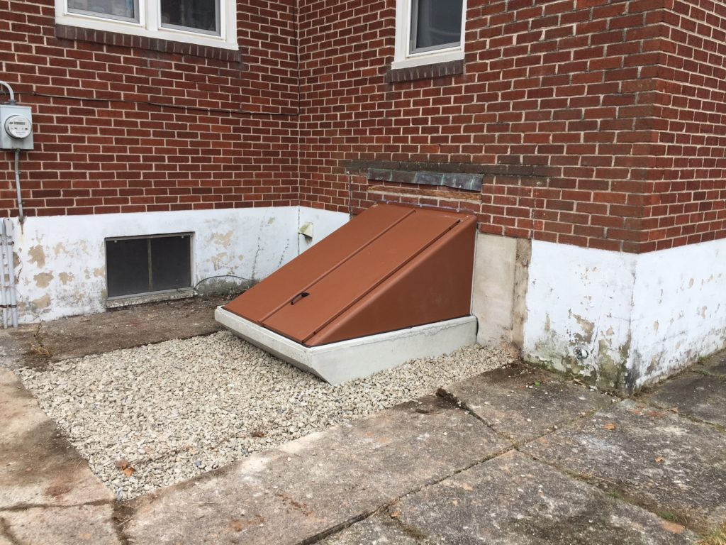 Completed Bilco® Door basement entrance project in Royersford