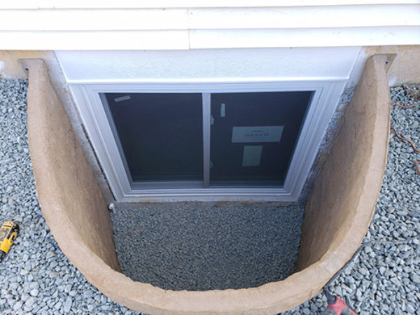 Rockwell egress window well