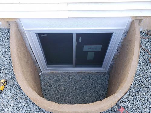Rockwell egress window well