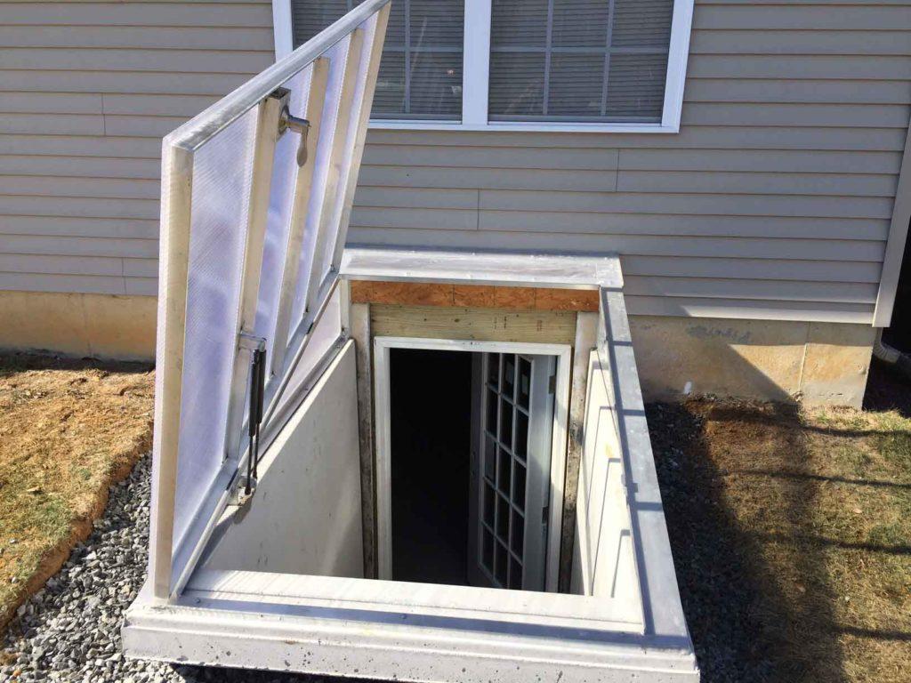Opened Cleargress door