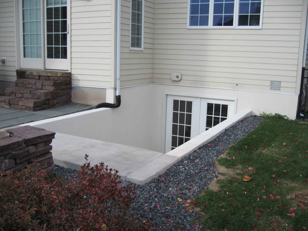 A completed Cleargress® permentry egress