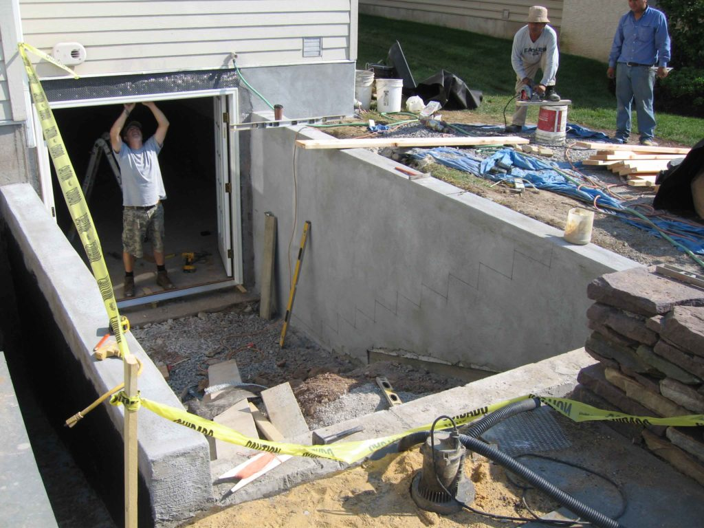 Workers are working on custom the Cleargress® permentry egress