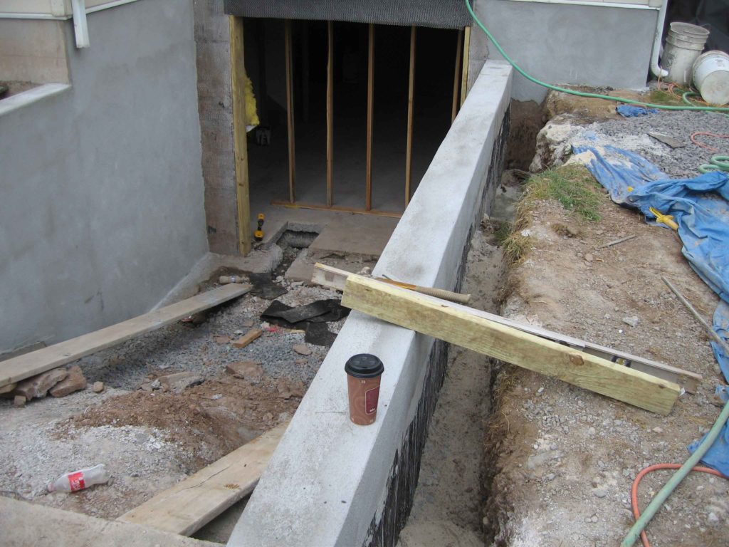 The custom Cleargress® permentry egress is under cunstruction