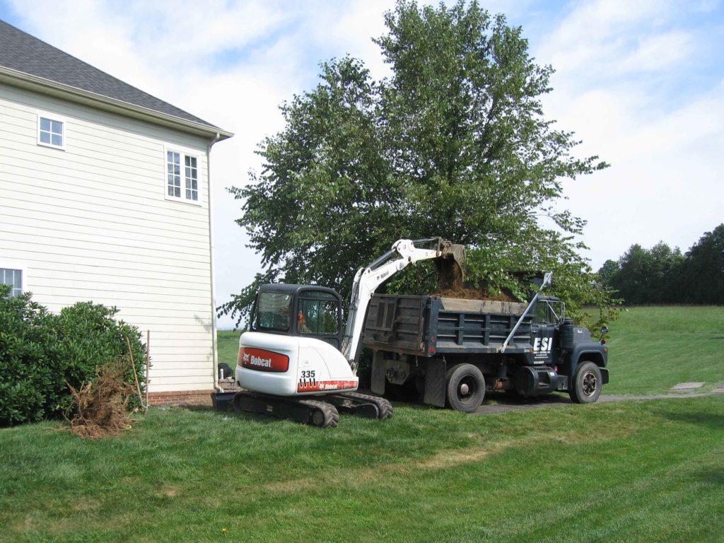ESI Construction vehicles