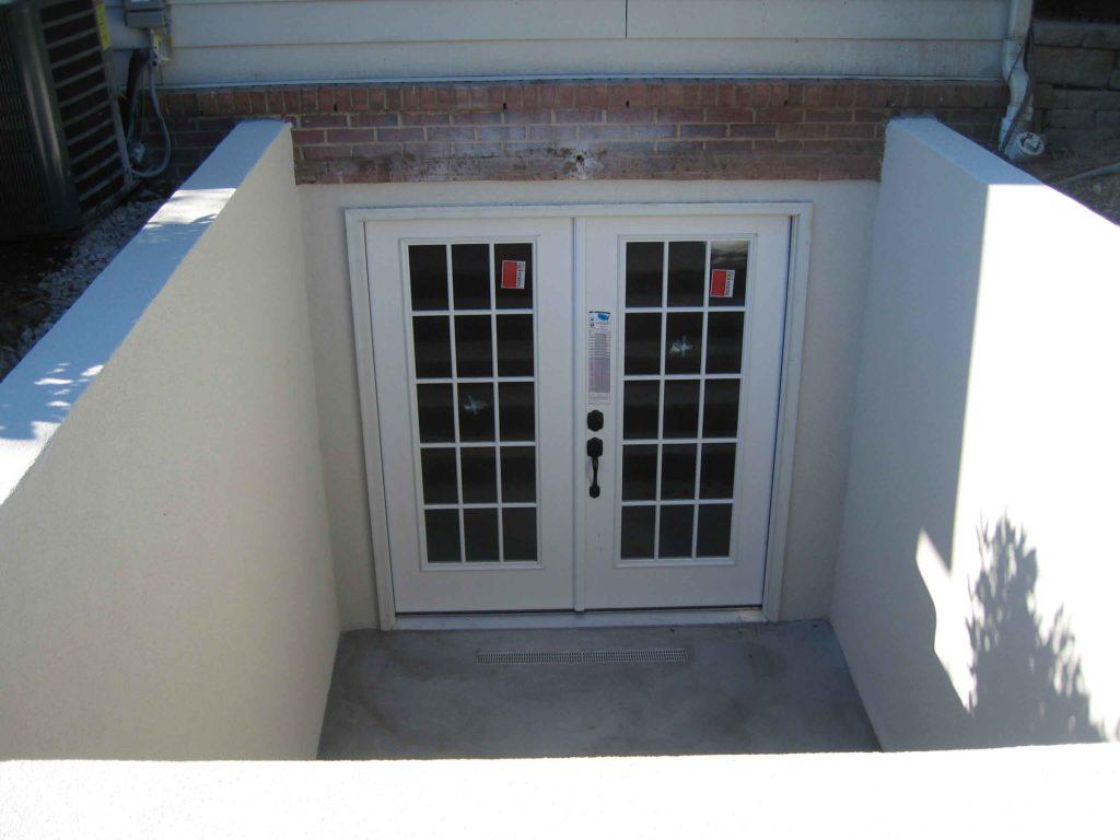 View of custom entrance door