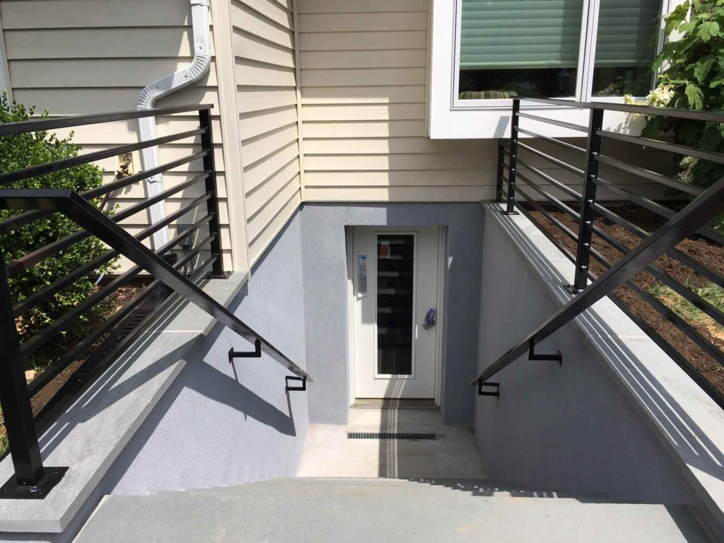 View of custom entrance