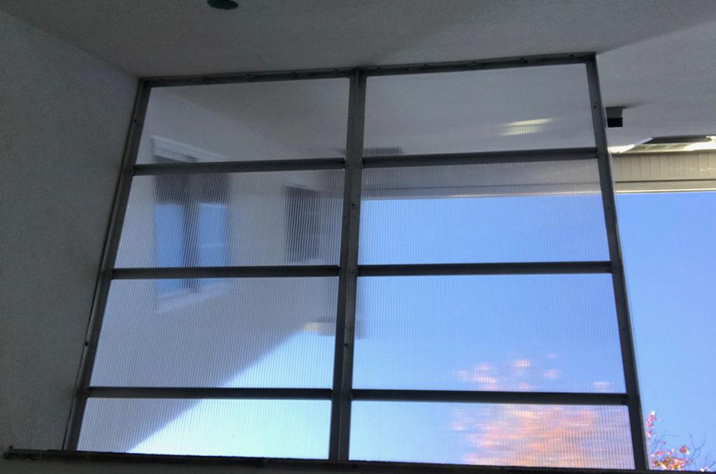 Cleargress window wall