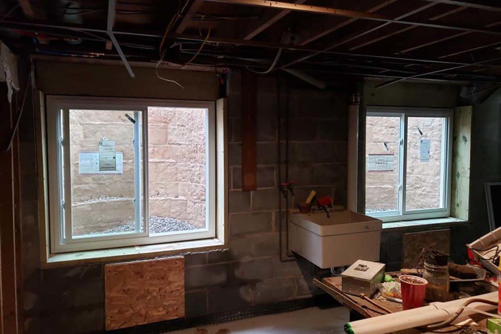 After installation of two Rockwell Elite egress systems with Simonton horizontal slider windows in TYSON ROAD, SCHWENKSVILLE